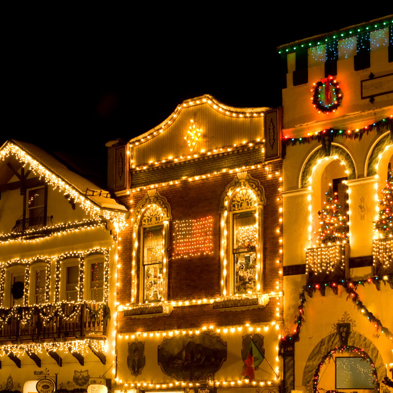 Commercial Holiday Lighting In Greenville Sc Columbia